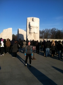 Martin Luther King Day run 2012