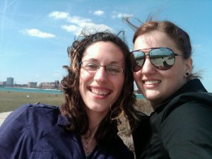 Jean and me a few years ago on Belle Isle taking a selfie before the rise of the selfie. Always ahead of the time.