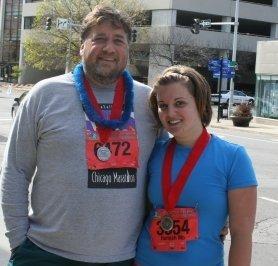 Des Moines Half Marathon, 2008.