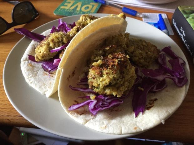 Yep...I used tortillas...seemed more versatile than buying pita.